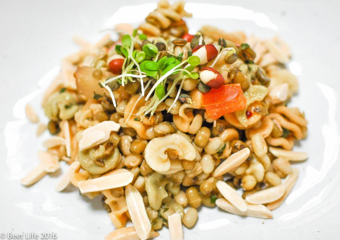 Mung Bean Pasta Salad
